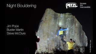 Night Bouldering - Peak District - Petzl by Petzl Sport