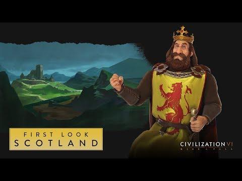 Górale na polu golfowym, czyli Szkocja w grze Civilization VI: Rise and Fall