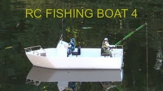 RC Fishing Boat 4  First Test