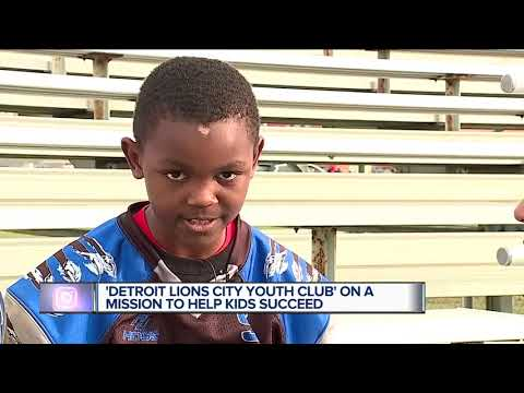 Let's Go Little Lions! Detroit City Lions Youth Club is going to nationals