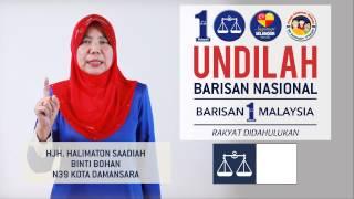 Bersama #SayangiSelangor, Bersatu Kita Teguh Di Negeri, Selangor Tercinta, Yakini BN.