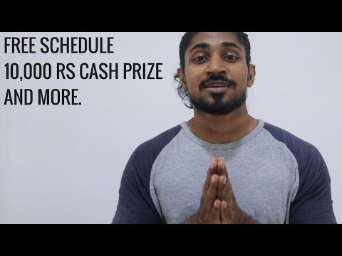 8 Week Workout Schedule. Gifts, Cash Prizes and more