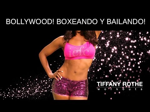 TIFFANY - Tiffany nos deja otra súper rutina de cardio box. Para quemar grasa y tonificar todo tu cuerpo. Las chicas usan pareos apoyando a las mujeres mas conservador...