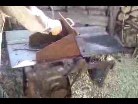 Щепорез своими руками измельчитель веток видео