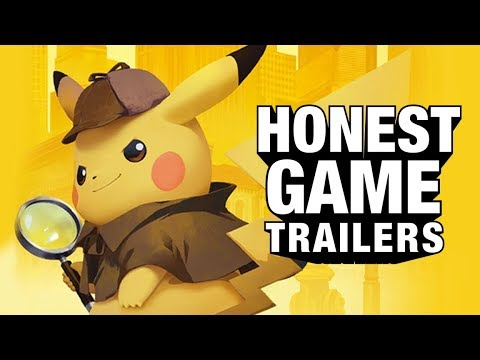 DETECTIVE PIKACHU (Honest Game Trailers)