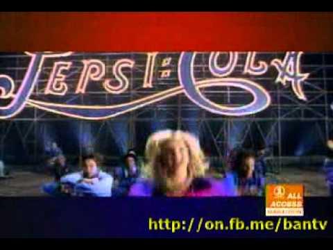 (Banned Commercials) Coca Cola Christina Aguilera vs PEPSI Britney Spears