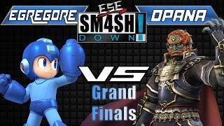 ESE Opana(Ganondorf) vs. Egregore(Mega Man) Grand Finals!