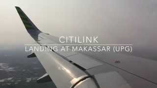 Eps. 15 Citilink (QG) Landing at Sultan Hassanudin International Airport (UPG) in Maros