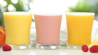 3 Summer Smoothie Recipes   Quick + Easy Breakfast Ideas by The Domestic Geek