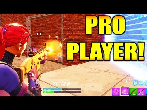 I BEAT A PRO PLAYER!!! (Fortnite Battle Royale Gameplay)