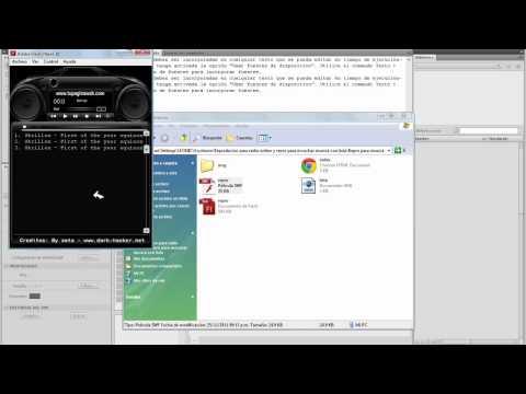Editar reproductor flash para radio online y para musica con lista xml