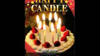 Happy Candle(d) YouTube video