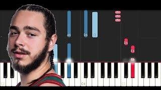 Video Post Malone - I Fall Apart (Piano Tutorial) download in MP3, 3GP, MP4, WEBM, AVI, FLV January 2017