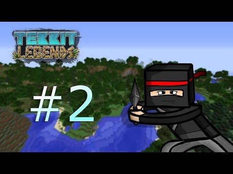 Tekkit Legends #2 - snažíme se začít