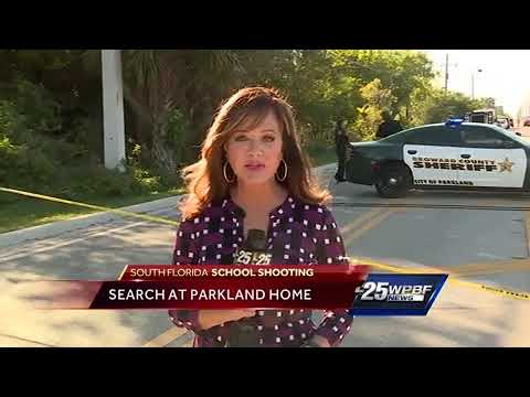 FBI search Parkland home where alleged shooter lived