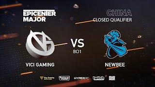 Newbee vs Vici Gaming, EPICENTER Major 2019 CN Closed Quals , bo1 [Mrdoubld]
