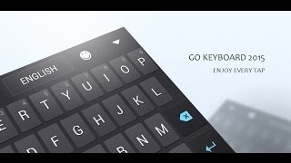 GO Keyboard Lite + Emoji YouTube video