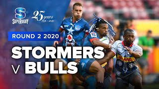 Stormers v Bulls Rd.2 2020 Super rugby video highlights | Super Rugby Video Highlights