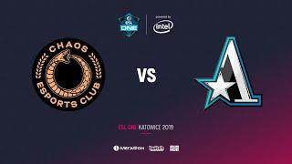 Chaos Esports Club  vs Team Aster, ESL One Katowice 2019, bo2, game 1 [Lum1Sit]