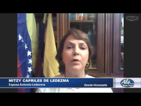 Entrevista a Mitzy Capriles de Ledezma – Alo Buenas Noches 19-01-2017 Seg. 03