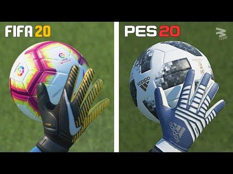 FIFA 20 vs PES 20 ⁞ Graphics Comparison
