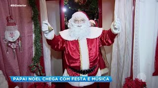 Bauru: Papai Noel chega com festa e música