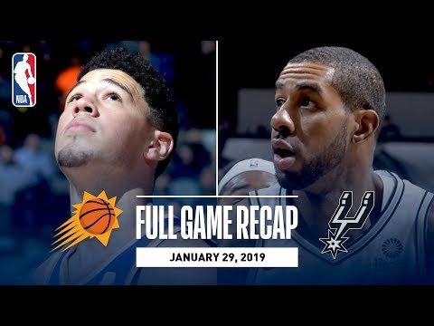 Video: Full Game Recap: Suns vs Spurs | Rudy Gay Knocks Down Game-Winner At The Buzzer