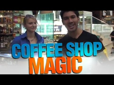 Coffee Shop Magic...Jay Jay Impresses A Pretty Girl!