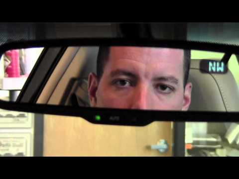 2012 Toyota Camry Auto Dimming Rear View Mirror How To By Toyota