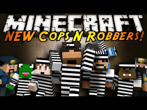 Minecraft Mini-Game : THE NEW COPS N ROBBERS 2.0!