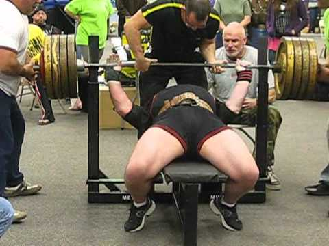 Bill Crawford's 900lb bench press 3-30-12