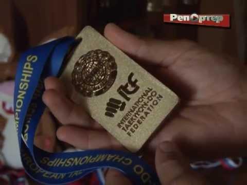 Самарец Виталий Тенькин стал золотым призером чемпионата Европы по тхэквондо