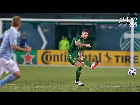 Video: Liam Ridgewell | Timbers 0, Sporting 0 | MLS Cup Playoffs | Nov. 25, 2018
