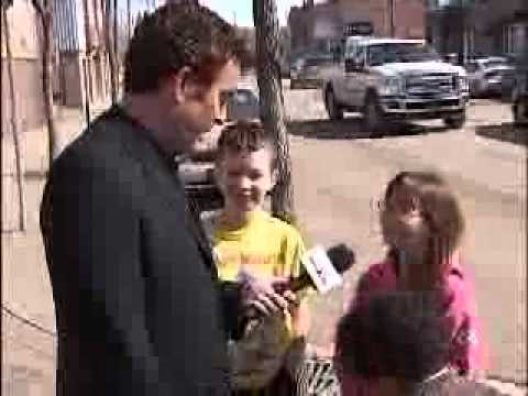 lloydminster - Rick Mercer in Canada's only Border City with Chris Campbell.