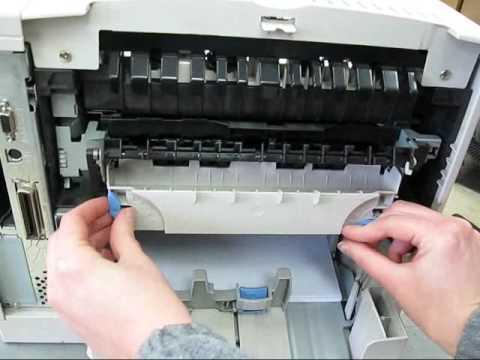 Replacing fuser maintenance kit in the HP Laserjet 4100 4100n 4100tn 4100mfp