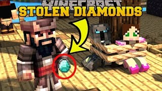Minecraft: HE STOLE OUR DIAMONDS!!! - CAPTAIN SEAGULL'S BUTTONS 2 - Custom Map
