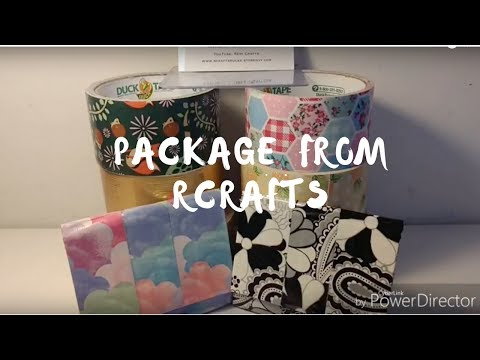 TWO MORE PACKAGES FROM RCRAFTS!!