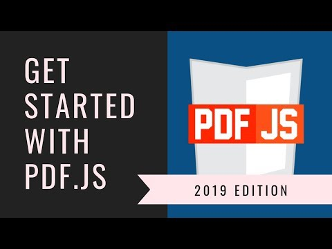 PDF.js Tutorial: Render PDF Files On HTML5 Canvas