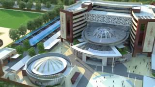Projet architectural retenu à l'issue du concours architectural lancé par le Ministère de l'Urbanisme et de l'Habitat en mars 2017 pour la construction des ...