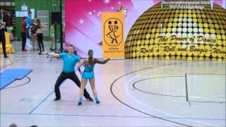 Julia Schubert & Patrick Riedel - Landesmeisterschaft Hessen 2013-14
