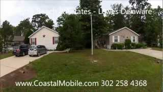 This is a tour of the Lewes Delaware Mobile Home Community of Angola Beach & Estates. This is a waterfront community with a...