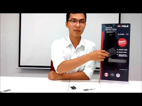 Khóa điện tử Thông minh Hafele Igloohome EL8500-TCB