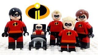 Video Lego Disney Pixar Incredibles 2 - Stop Motion Cartoon For Kids | Compilation LuckyCleverToys MP3, 3GP, MP4, WEBM, AVI, FLV Oktober 2018