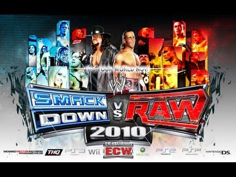 (one of) The worst wrestling game series ever – Smackdown vs. Raw (2010)