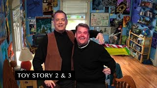 James Corden and Tom Hanks Act Out Tom's Filmography