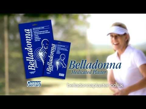 Cuxson Gerrard Belladonna Plaster - relief for aches and pains
