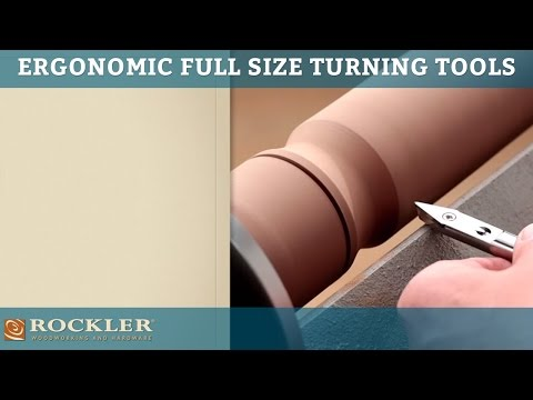 Rockler Ergonomic Full Size Turning Tools