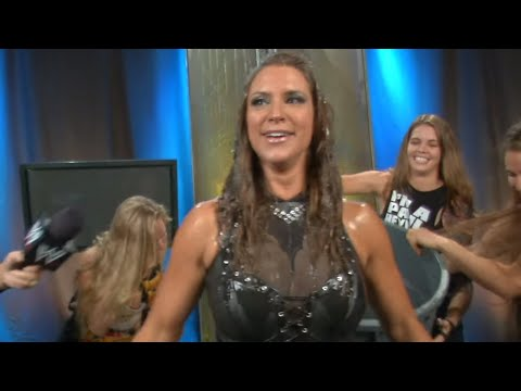 stephanie - WWE Chief Brand Officer Stephanie McMahon takes part in the
