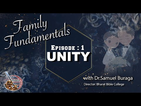 Ep 1 || FAMILY FUNDAMENTALS || Re-Learning the forgotten Biblical Values
