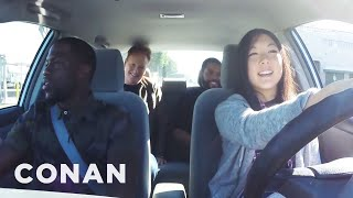 Video Ice Cube, Kevin Hart And Conan Help A Student Driver  - CONAN on TBS MP3, 3GP, MP4, WEBM, AVI, FLV Juni 2018